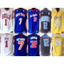 Camisa Regata Nba Los Angeles Golden Stats Miami Brooklyn