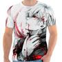 Camiseta Camisa Masculina Otaku Anime- Tokyo Ghoul 10