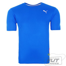 Camisa Puma Running Tee Azul - Futfanatics