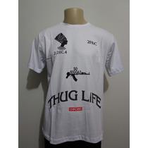 Camiseta Chronic 2 Pac Thug Life West Side Crazzy Store