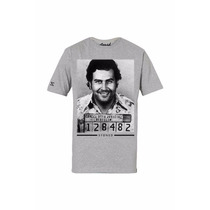 Camiseta Masculina Estampa 3d El Pablo Swag