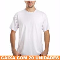 Camiseta Básica, Gola Redonda, Manga Curta - Atacado