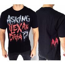 Camiseta De Banda - Asking Alexandria