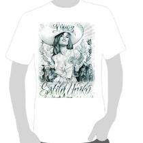 Camisetas Art Chicana 01 - 6 Estampas Pra Sua Escolha
