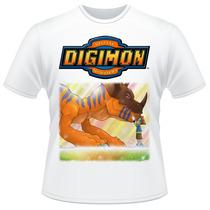 Camiseta Digimon Anime Desenho Camisa #03
