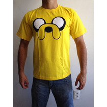 Camisa Hora Da Aventura Camiseta Jake Desenho Finn