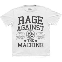 Camiseta Masculina - Banda Rage Against The Machine
