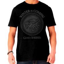 Camisa Game Of Thrones - Stark Escudo
