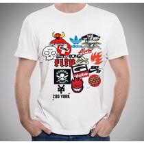 Camiseta Santa Cruz Skate Zoo York Toymachine Nike Globe