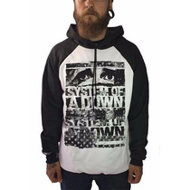 Blusa Masculina Frio Bandas Rock Metal System Of A Down Soad