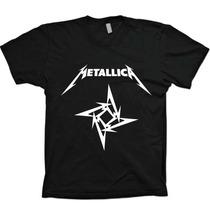 Camisas Bandas Rock - Metallica - 100% Algodão!!