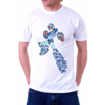 Camiseta Game Megaman