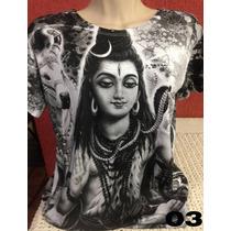 Camisetas Deuses Indianos Femininas Baby G G