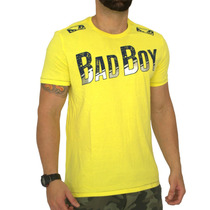 Camiseta Mma Sports Bad Boy - Amarelo