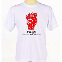 Camisa Rage Against The Machine Camisetas Punk Hip Hop Rap