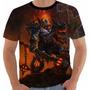Camiseta Game World Warcraft Blackhand Wow Mão Negra Color