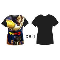 Camisa Camiseta Anime Personalizada Dragon Ball Mod. 01 A 05