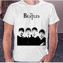 Camiseta Personalizada Masculina Banda Beatles