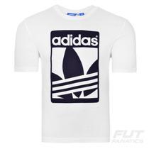 Camiseta Adidas Graphic Street Originals Branca -futfanatics