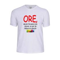 Camisas Camisetas Oração Evangélica Jesus Deus Banda Cristo