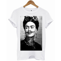 T-shirt - Frida Kahlo - Bigode