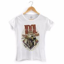 Camiseta Feminina Billy Idol Fatal Charm - Bandup!