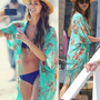 Kimono Feminino Cardigan Pronta Entrega Verão