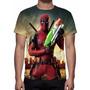 Camisa, Camiseta Filme Deadpool - 2016 - Estampa Total