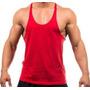 Camiseta Regata Lisa Cavada Academia Masculina - Dry Fit