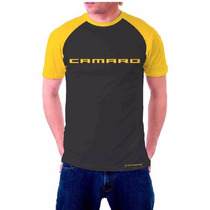 Camiseta Camaro Carros Black