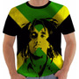 Camiseta Ou Regata Ou Baby Look Bob Marley 11 Reggae Jamaica