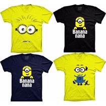 Camiseta Minions Minion Banana Meu Malvado Favorito Minions