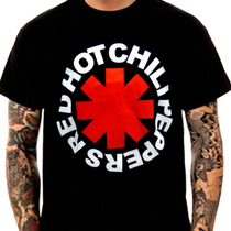 Camisetas De Rock Red Hot Chilli Peppers Galeria Da Estampa