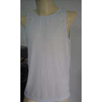 Camiseta Regata Adulta Masculina 100% Poliéster Sublimação