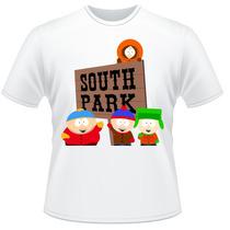 Camiseta Infantil South Park Kyle Stan Eric Kenny Camisa