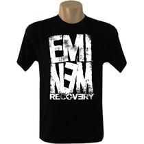 Camisetas Bandas Rock Hip Hop Eminem Masculina
