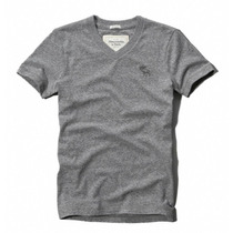 Camisa Camiseta Abercrombie Fitch Gola V Original - G