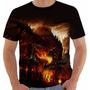 Camiseta World Of Warcraft - Modelo 2 - Fire Dragon - Games