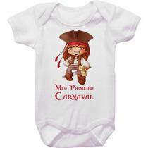 Body Carnaval Jack Sparrow Meu Primeiro Carnaval