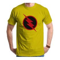 Camiseta Camisa The Flash Reverso Seriado
