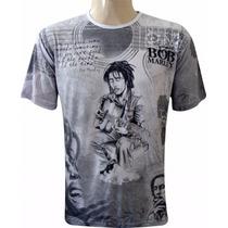 Camiseta Bob Marley ( Violão )