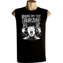Camiseta Regata Machão Bring Me The Horizon Bandas Rock