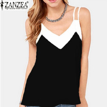 Blusas Decote Em V Moda Do Verão 2016 12x Sem Juros!