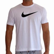 Camiseta Masculina E Baby Look Nikecom Logo Preto
