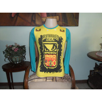 Camisa Rash Guard Bad Boy Manga Longa Treino Luta
