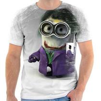 Camiseta Do Minions De Coringa Estampada Personalizada 1