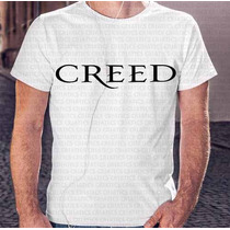 Camiseta Manga Curta Menino Banda Creed