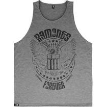 Regata Ramones Camisetas Blusa Moletom Banda Rock Punk Skate