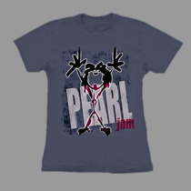 Baby Look Pearl Jam Alive!! Estampa Exclusiva!!