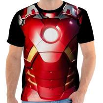 Camisa, Camiseta Homem De Ferro - Traje 02